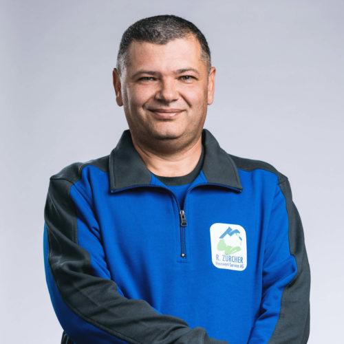 Ion-Iulian Calina –Hauswart, R. Zürcher Hauswart-Service AG