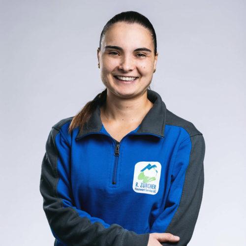 Joana Carvalho –Hauswartin, R. Zürcher Hauswart-Service AG