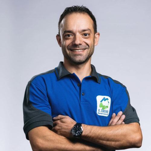 Rogerio Ribeiro –Hauswart, R. Zürcher Hauswart-Service AG