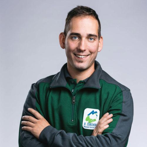David Stebler –Bereichsleiter Garten- & Umgebungspflege, R. Zürcher Hauswart-Service AG