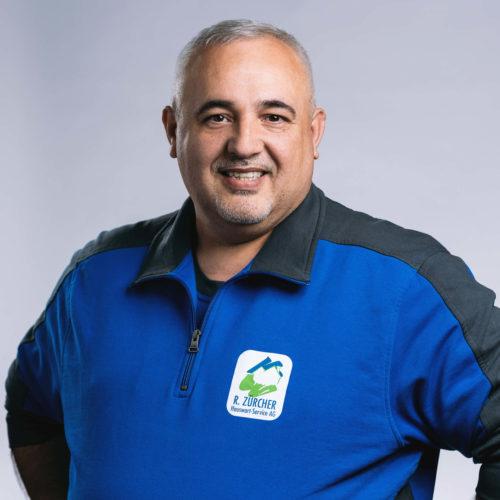 Zoran Strainovic –Bereichsleiter Hauswartung & Spezialreinigung, R. Zürcher Hauswart-Service AG