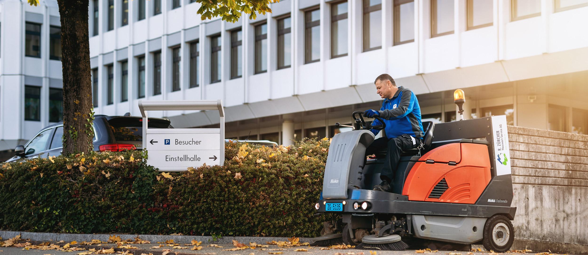 R. Zürcher Hauswart-Service AG – Hauswartung